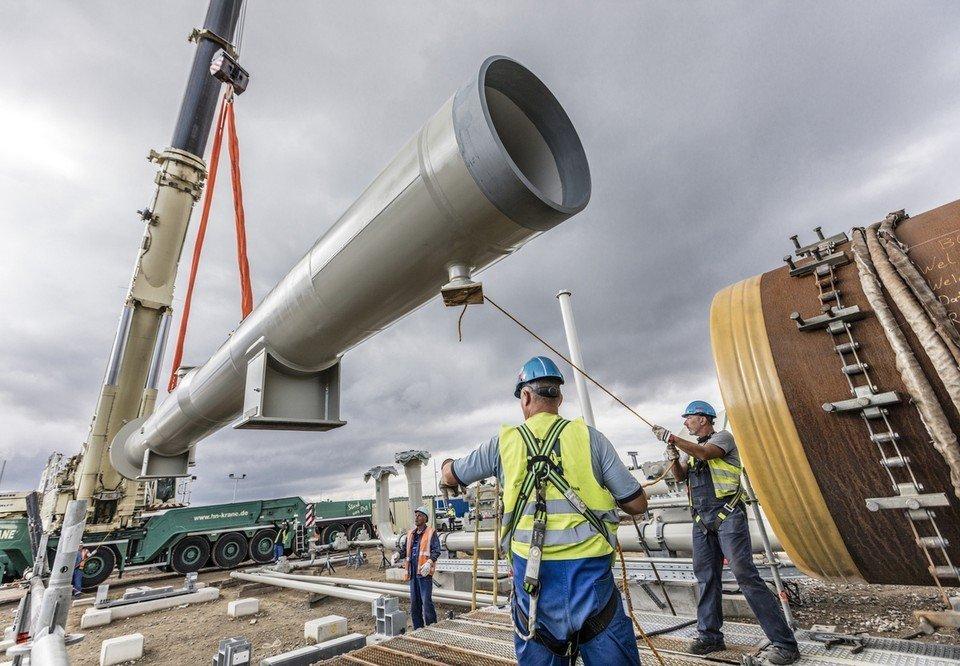 укладка газопровода северный поток-2\ официальное фото Nord Stream 2 AG