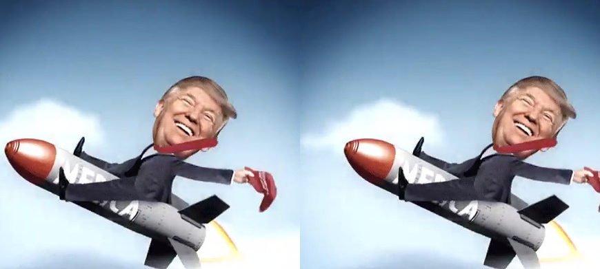 Супер-пупер фейк Трампа о супер-пупер ракете