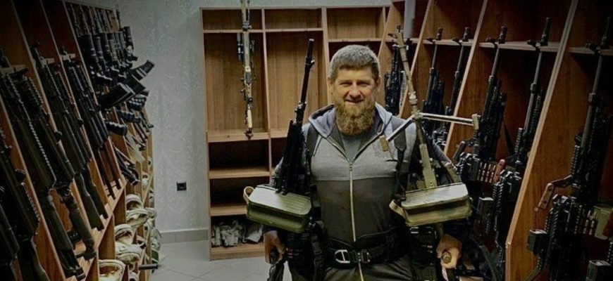 Кадыров отреагировал на санкции США против него