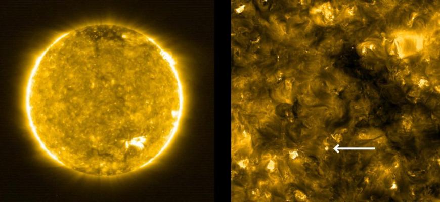 Впервые в истории науки получены снимки солнца с максимально близкого расстояния