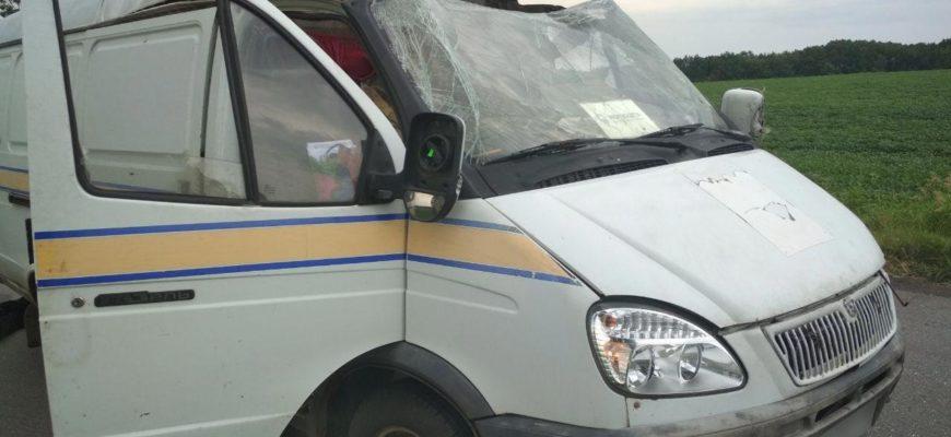На Украине взорвали инкассаторский автомобиль